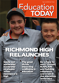Education Today Issue Cover Image